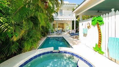 Photo for << BACK TO THE ISLAND @ THE ANNEX >> Tropical Townhome w/ Pool & Jacuzzi + LAST KEY SERVICES…