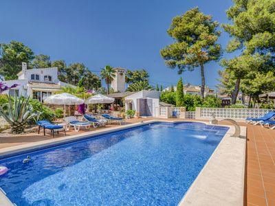 Photo for Casa Felicia in Javea, sleeps 6 people,  with pool, air con, wifi, TV, parking