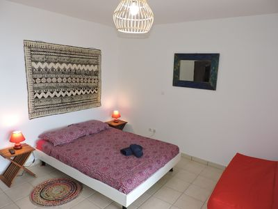 Photo for Fully equipped studio for 3 people Caribbean sea view