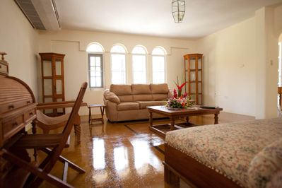 First Floor Living Room Is Spacious And Elegant