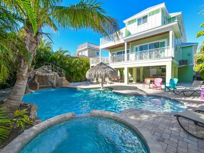 Photo for SURF VIEW • RESORT POOL AND WATER SLIDE - ROOFTOP HOT TUB!