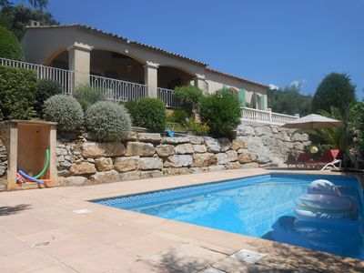 Photo for Villa with pool - Private area