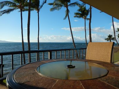 Photo for Stunning Oceanfront at LAULOA/Ma'alaea! Free Wifi/Long Distance calling
