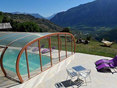 Photo for 3 bedroom Apartment, sleeps 6 in La Serre with Pool and WiFi