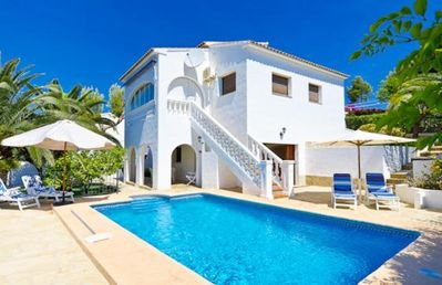Photo for ALEX, villa with sea and mountain views in Benissa, free wifi