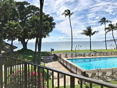 Photo for Ma'alaea Surf, Unit E5 - 2 Bedroom Oceanfront Condo, Gorgeous Sunsets