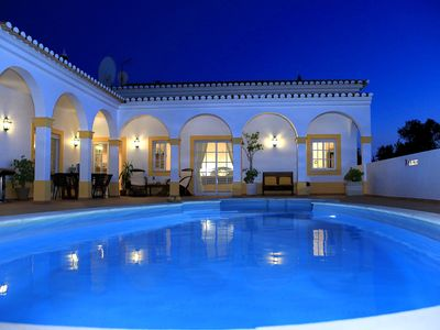 Photo for Stylish  villa with private  pool / mountain &  river views