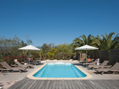 Photo for VILLA LUXURY VILLA HEATED POOL A 350 M FROM THE BEACH OF CALA ROSSA