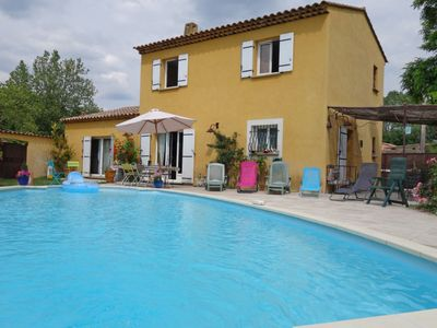 Photo for 3 bedroom Villa, sleeps 6 in Les Logissons with Pool and WiFi