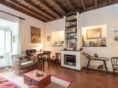 Photo for Apartment 19 m from the center of Rome with Internet, Air conditioning, Lift, Washing machine (9823)