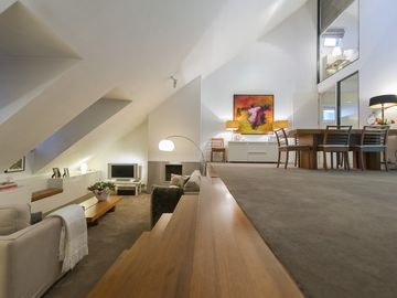 Luxury apartment on the Maas .Most centrally located luxury residence