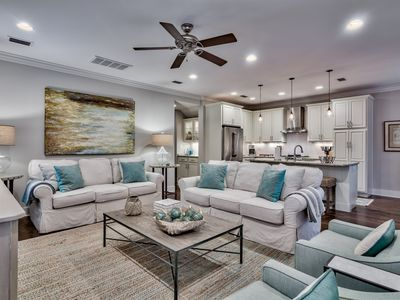 Photo for Professionally Decorated Home with 4 Bikes and Beach Chairs - Watersound West