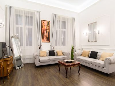 Photo for Elegant, luxury apartment off Andrássy Ave, 2 BR, 2 Baths