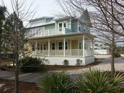 Photo for ECO-HOME WITH A SCREENED PORCH, COMMUNITY POOL, BIKE PATHS, BEACH ACCESS