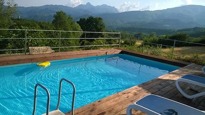 Photo for Marcione, character cottage, own pool, wonderful views, walk restaurant; WIFI!
