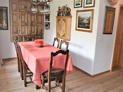 Photo for Authentic serviced apartment in the center of St Moritz