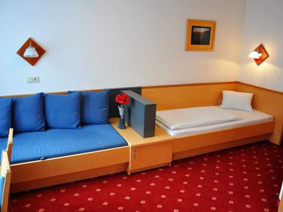 Photo for Double room (2 beds) with shower, toilet - trombone, pension