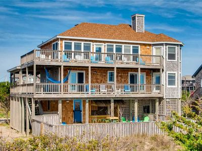 Photo for Enchanting Oceanfront Views-Pool, HotTub, GameRm, DogFriendly, Easy Beach Access