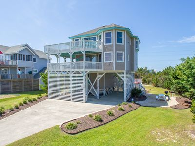 Photo for Private HGTV Inspired Beach Cottage Gorgeous 4 BR 2 BA ~ Luxury SemiOceanfront