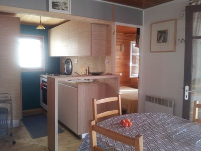 Photo for AUTHENTIC WOODEN CHALET, beach 100 Meters