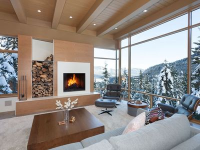 Photo for Deluxe 4 Bedroom: Contemporary Home Nestled In The Mountains - Ski In Ski Out!