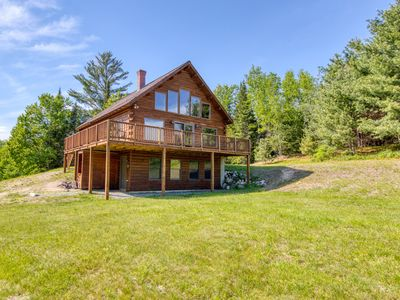 Photo for Lovely cabin home with mountain views, direct access to ski and snowshoe trails!