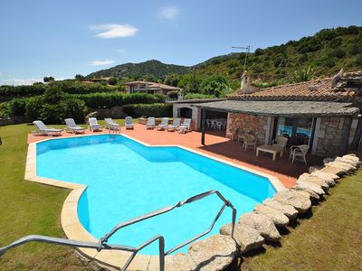 Photo for Stunning private villa with A/C, WIFI, private pool, TV, washing machine and parking