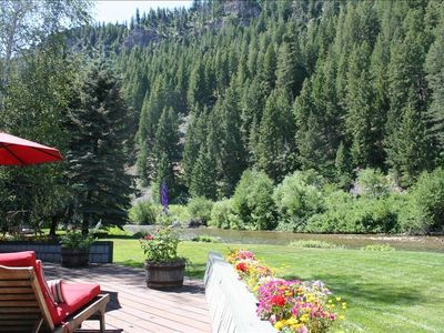 Photo for Riverfront House in West Ketchum - Great Location