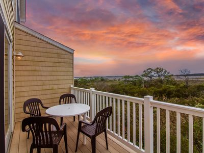 Photo for SM146: 1 block to the beach! Bayfront 5BR Salt Meadows, Fenwick Island home!