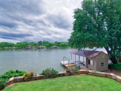 Photo for Enjoy Your Stay At Bonnie Brae - Brand New 6,500lb Boat Dock with Lift,  WiFi
