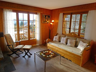Photo for Apartment Sapin Bleu 5 in Villars - 4 persons, 1 bedrooms