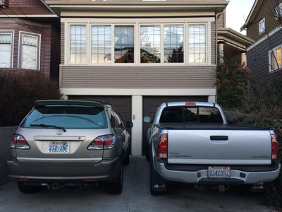 Rental includes two off-street parking spaces