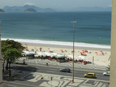 Photo for Copacabana - Posto 6 Wonderful View To Beach - 3 Bedrooms. Sleeps Family