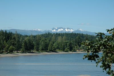 Mount Arrowsmith and Craig Bay from the kitchen
