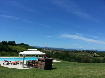 Photo for Villa & pool in UNESCO's Monferrato