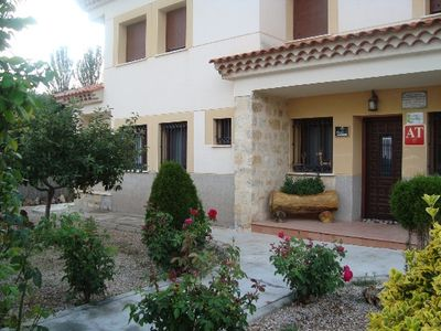 Photo for Rural apartment Los Parrales! 3 apartments for 4/5 people each!