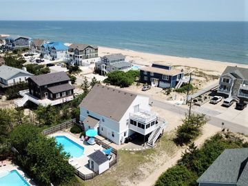 Aerial view of our Beach House!