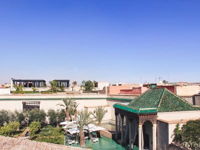 "Photo for Original & exclusive riad with view on ""The Secret Garden"" in Medina Marrakech"