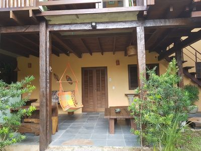 Photo for Rustic chalet overlooking the Atlantic Forest - sleeps 06 people