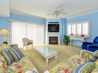 Photo for Beautiful Luxury 3 Bedroom Condo with Free WiFi and an Outdoor Rooftop Pool Just Steps From the Beach!