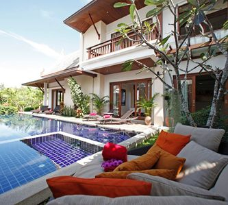 Photo for Tropical peaceful Thai Style pool villa