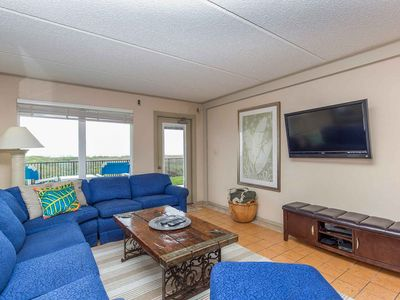 Photo for Embassy 104 - Spacious Beachfront Condo Located on the 1st Floor, Pool, Spa & Tennis Court