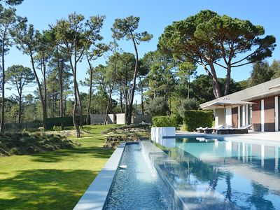 Photo for Luxury villa for 8 people w/ Panoramic Views, Swimming Pool, Sauna, Jacuzzi, Gym