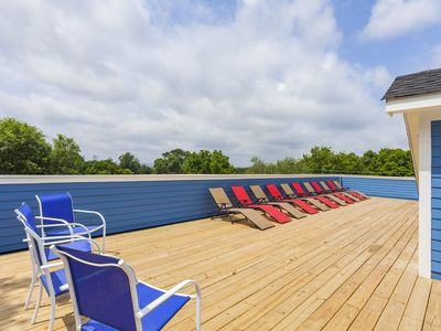 Photo for (4) 4th NIGHT FREE!- Huge New Home - Rooftop Deck, Pool Table - 3.0mi To Downtow