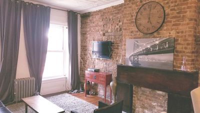 Photo for Beautiful Pre war Loft style apartment