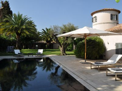 Photo for St Tropez - Mansion from the XIV century, with landscaped garden and pool