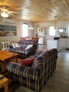 Photo for 3 BR newly renovated beach acess/waterview cottage