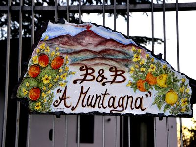 "Photo for Double private room in B & B ""A Muntagna"""