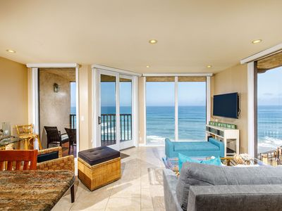 Photo for A LITTLE SEACLUSION - Oceanfront, 1 Bedroom Condominium - DMST25