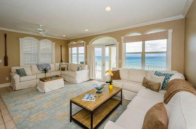 Living Area and Gulf View